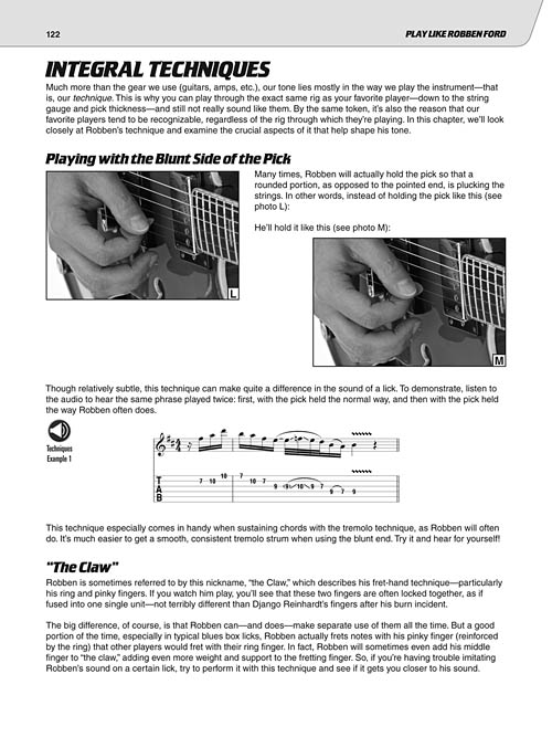 Play Like Robben Ford Sheet Music By Chad Johnson Sku