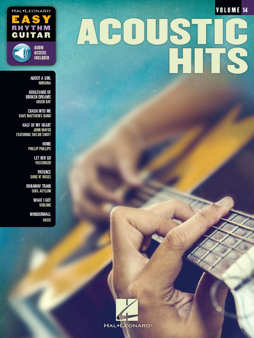 Acoustic Hits Easy Rhythm Guitar Series Volume 14 Guitar Tab