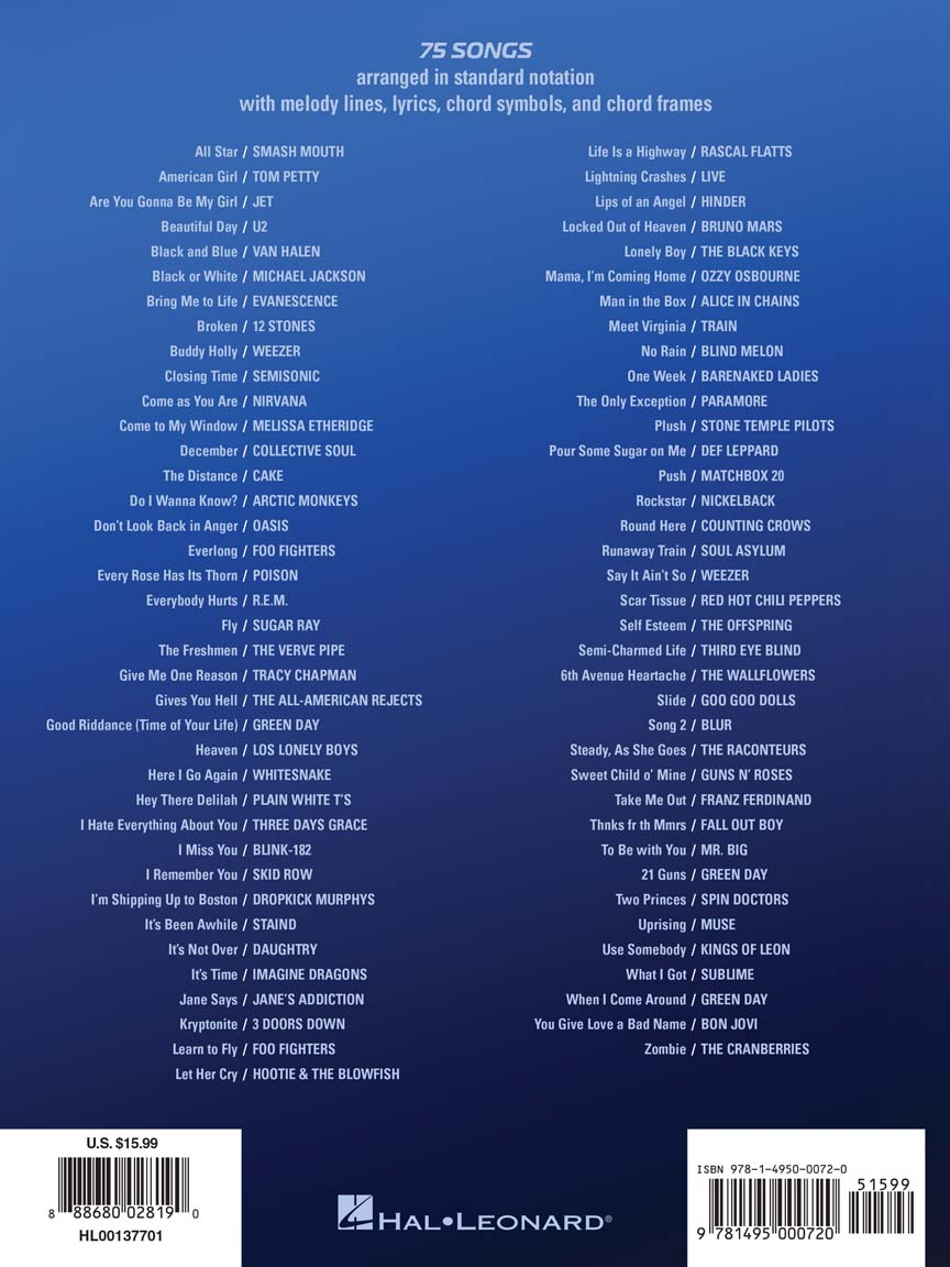 Best Rock Songs For Easy Guitar No Tab Easy Guitar 137701