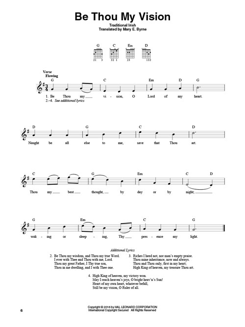 4-Chord Hymns for Guitar - Taylors Music Chester County