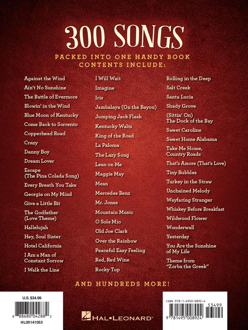 The hal leonard mandolin fake book 300 songs melodylyrics back cover losing my religion hexwebz Images