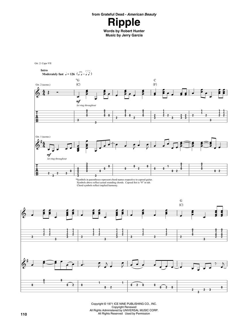 Acoustic Guitar 25th Anniversary Songbook Guitar Tab Guitar