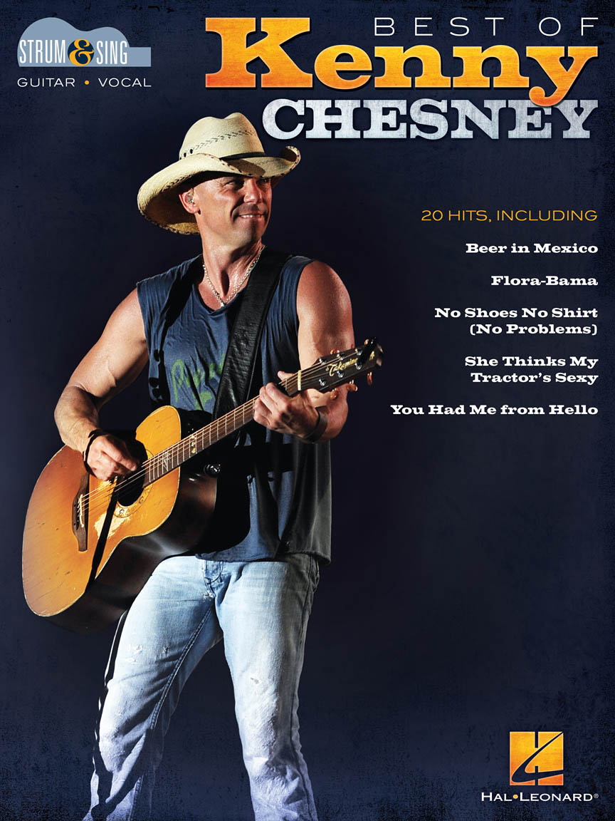Best Of Kenny Chesney Strum And Sing Series Softcover Guitar