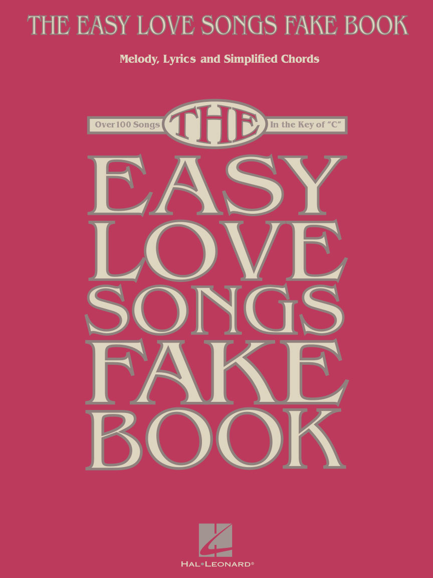 The Easy Love Songs Fake Book Melody Lyrics Simplified Chords