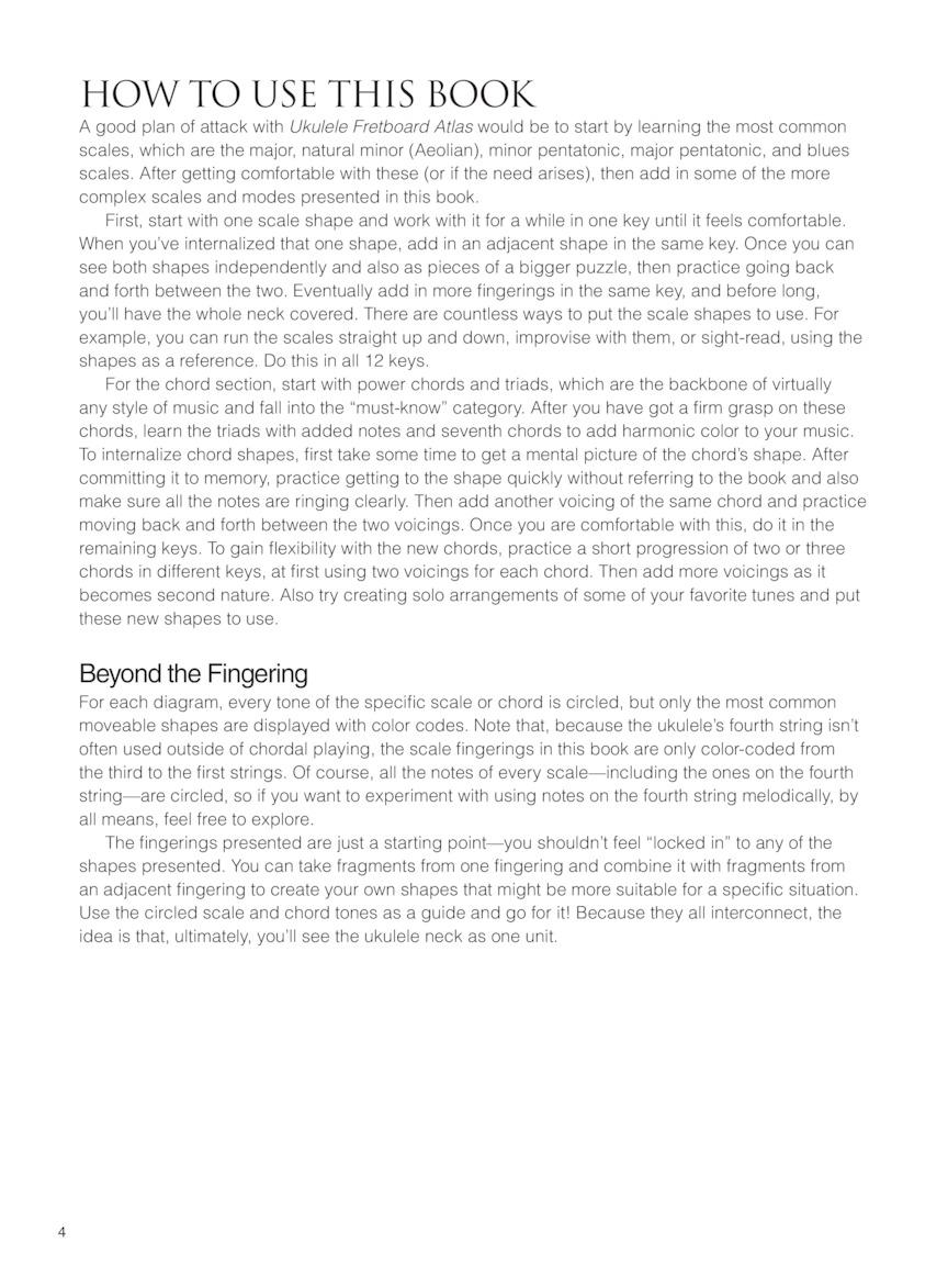 Ukulele Fretboard Atlas Get A Better Grip On Neck Navigation By Joe Charupakorn 201828 Uke Diagram Back Cover Pg 9 8