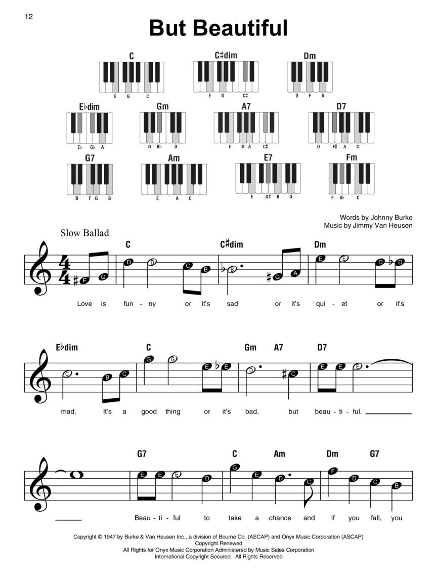Jazz Standards Super Easy Songbook Sheet Music Super Easy SongBook 000233687