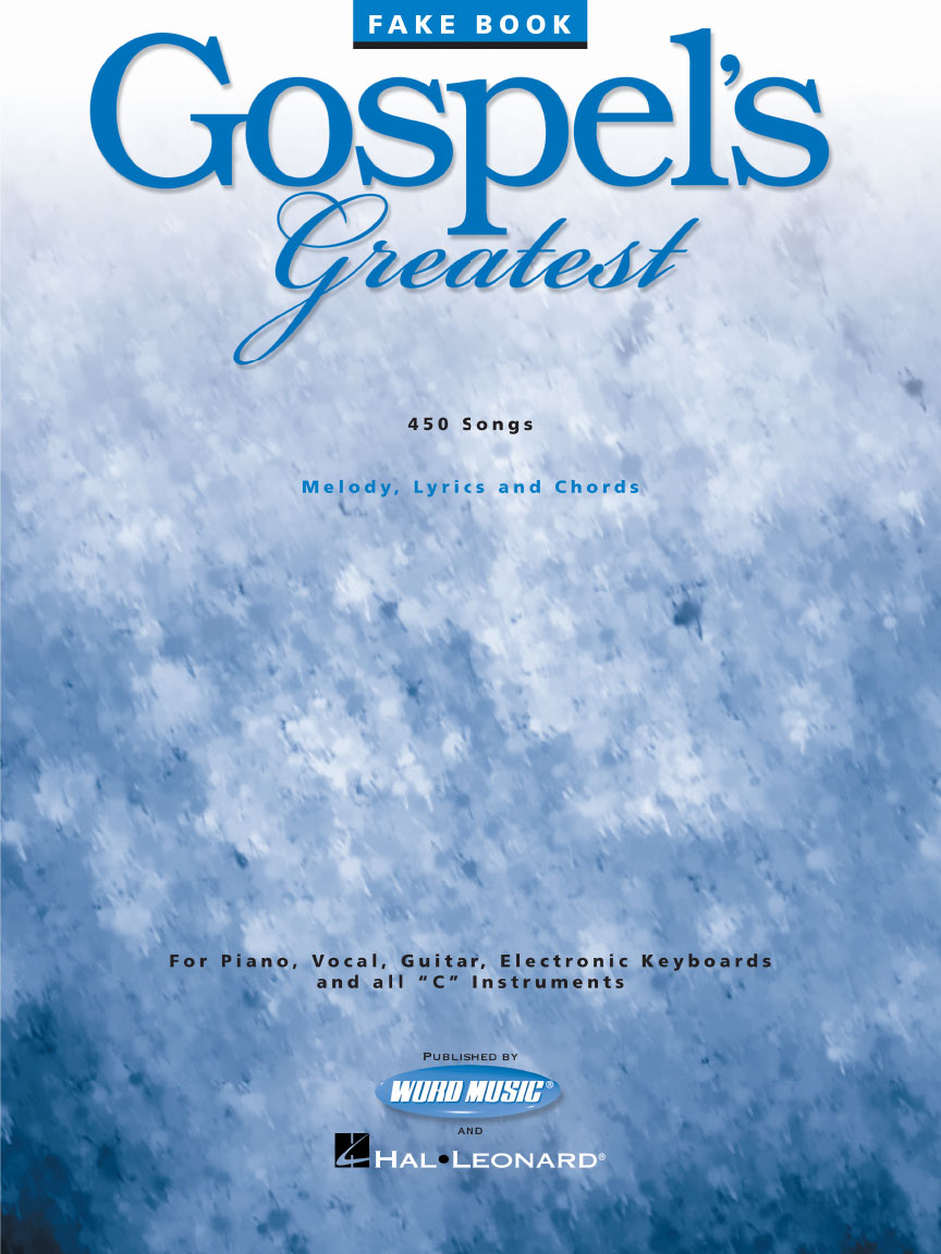Gospels greatest published by word music and hal leonard the beautiful front cover hexwebz Images