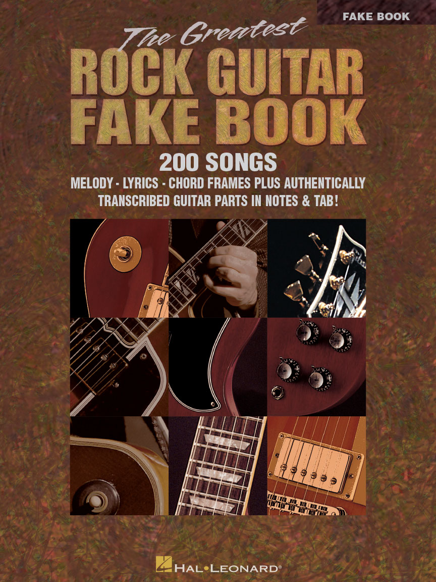 The Greatest Rock Guitar Fake Book Guitar Tab Melodylyrics