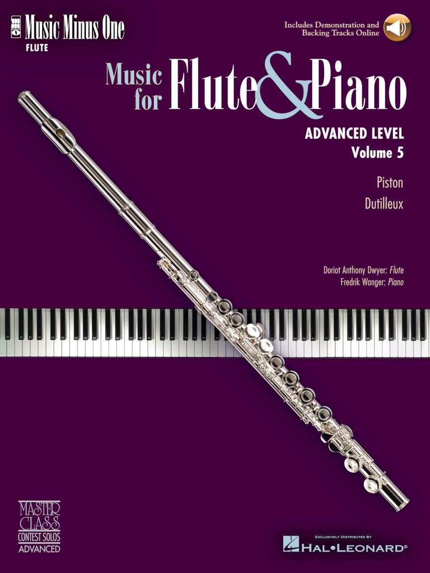 Music Minus One Book//CD Pack Volume 3 Various Beginning Flute Solos