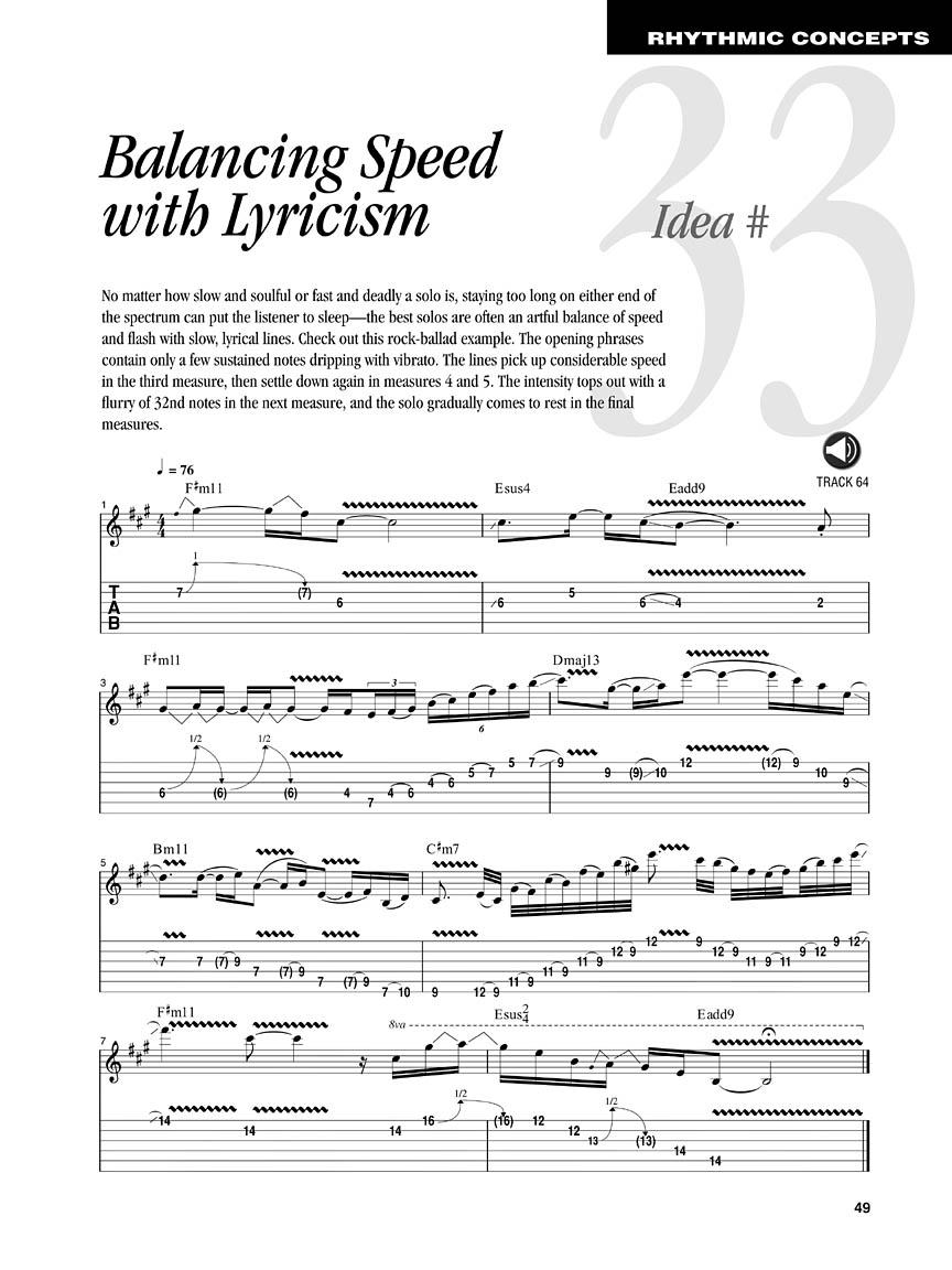 50 Ways to Improve Your Improvisational Skills Amazing Phrasing Guitar