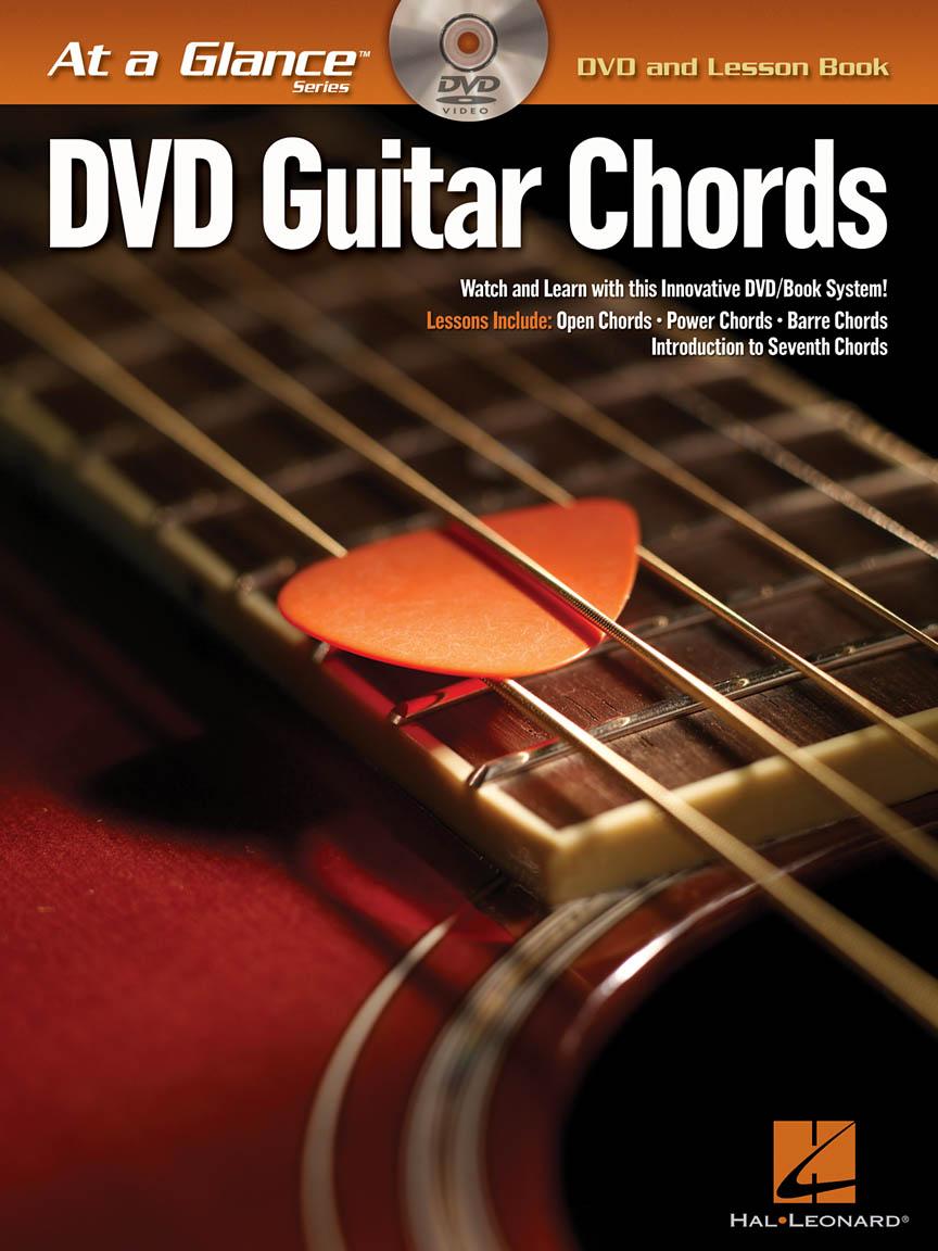 Guitar Chords Dvdbook Pack Guitar Tab Bookdvd Pack 696018