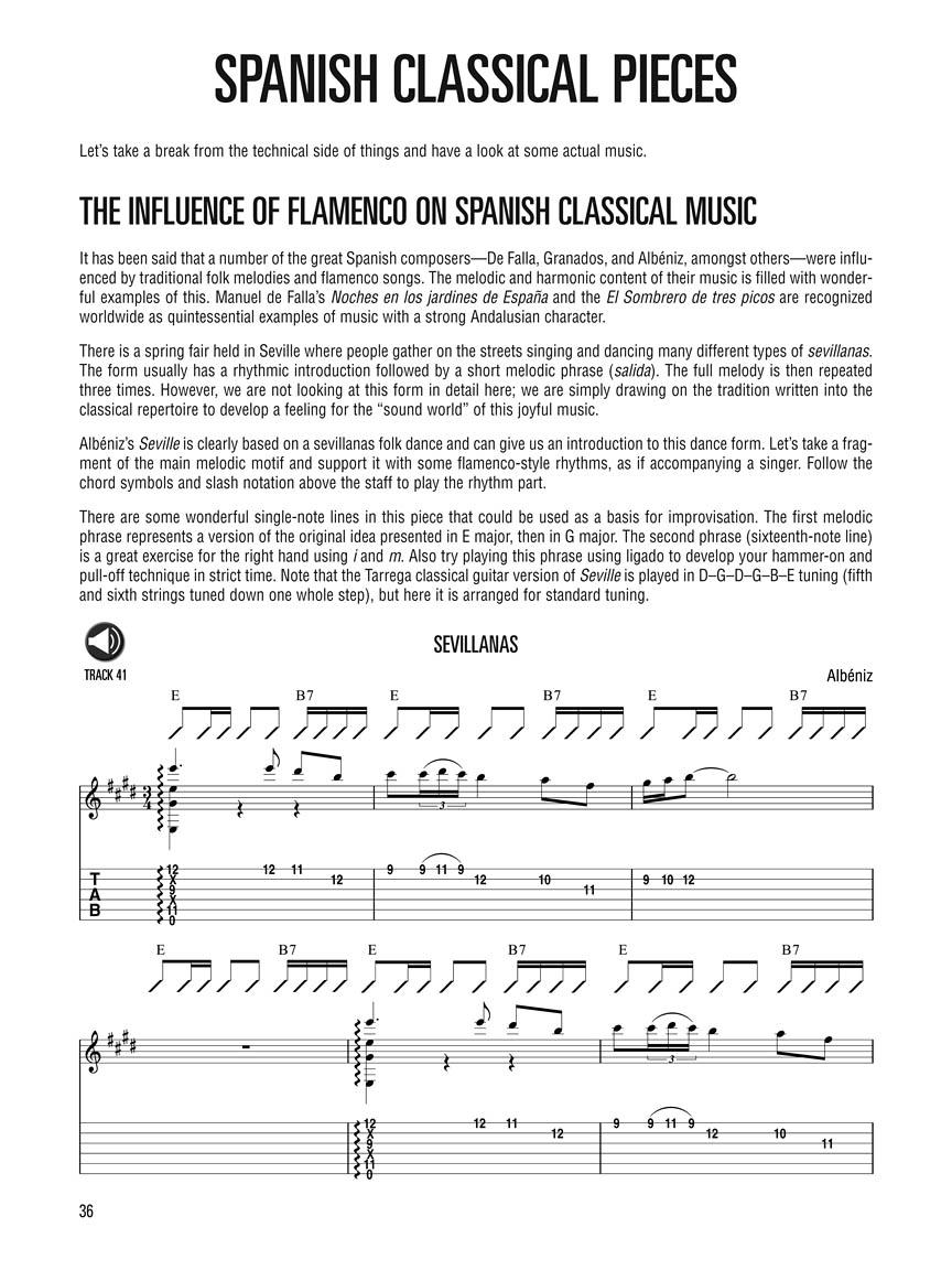 Hal Leonard Flamenco Guitar Method Learn To Play Flamenco Guitar