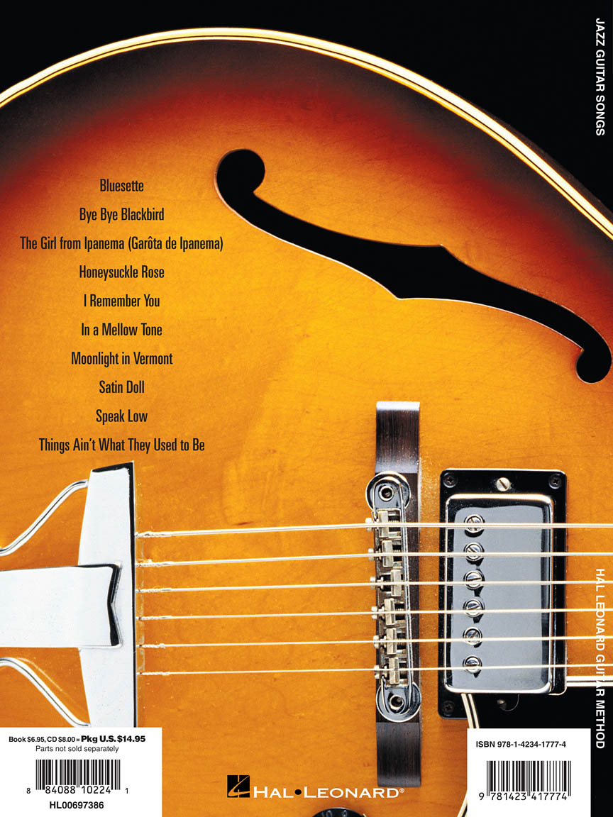 Jazz Guitar Songs Hal Leonard Guitar Method Supplement Guitar Tab
