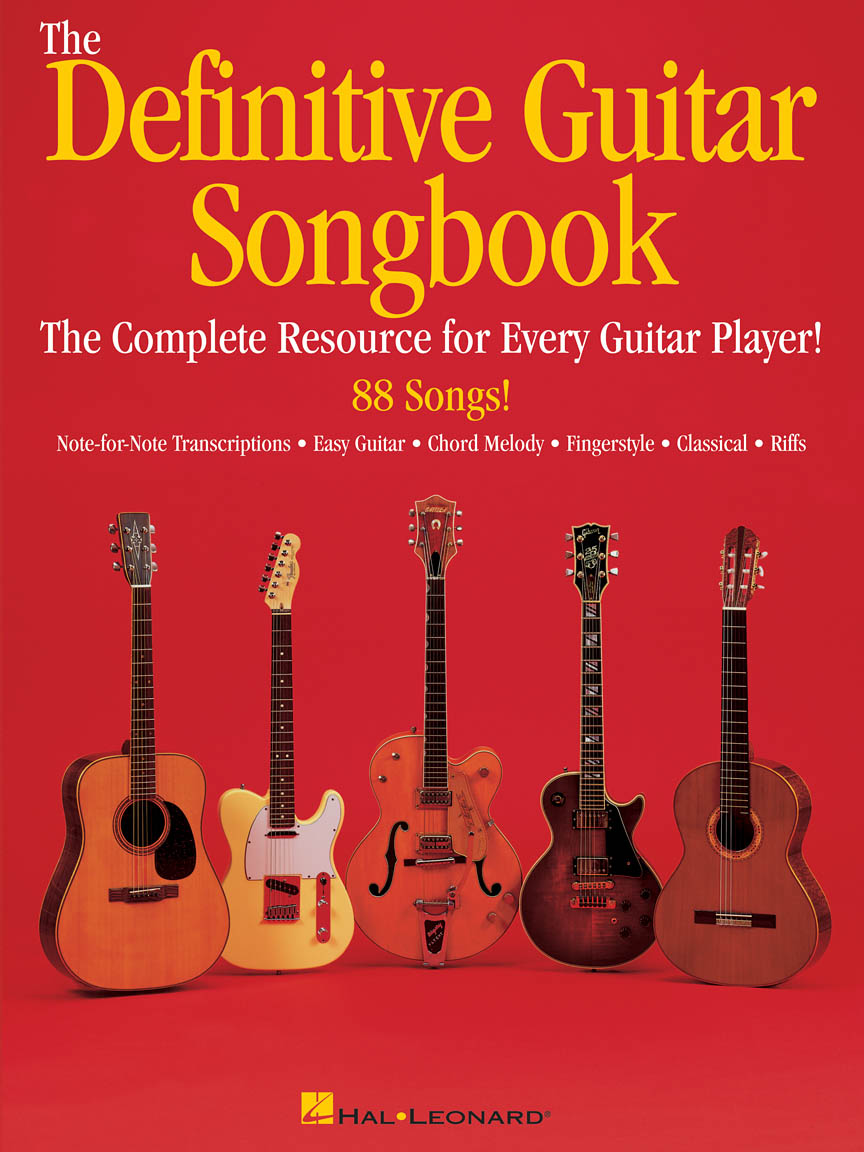 The Definitive Guitar Songbook Guitar Tab Guitar Collection