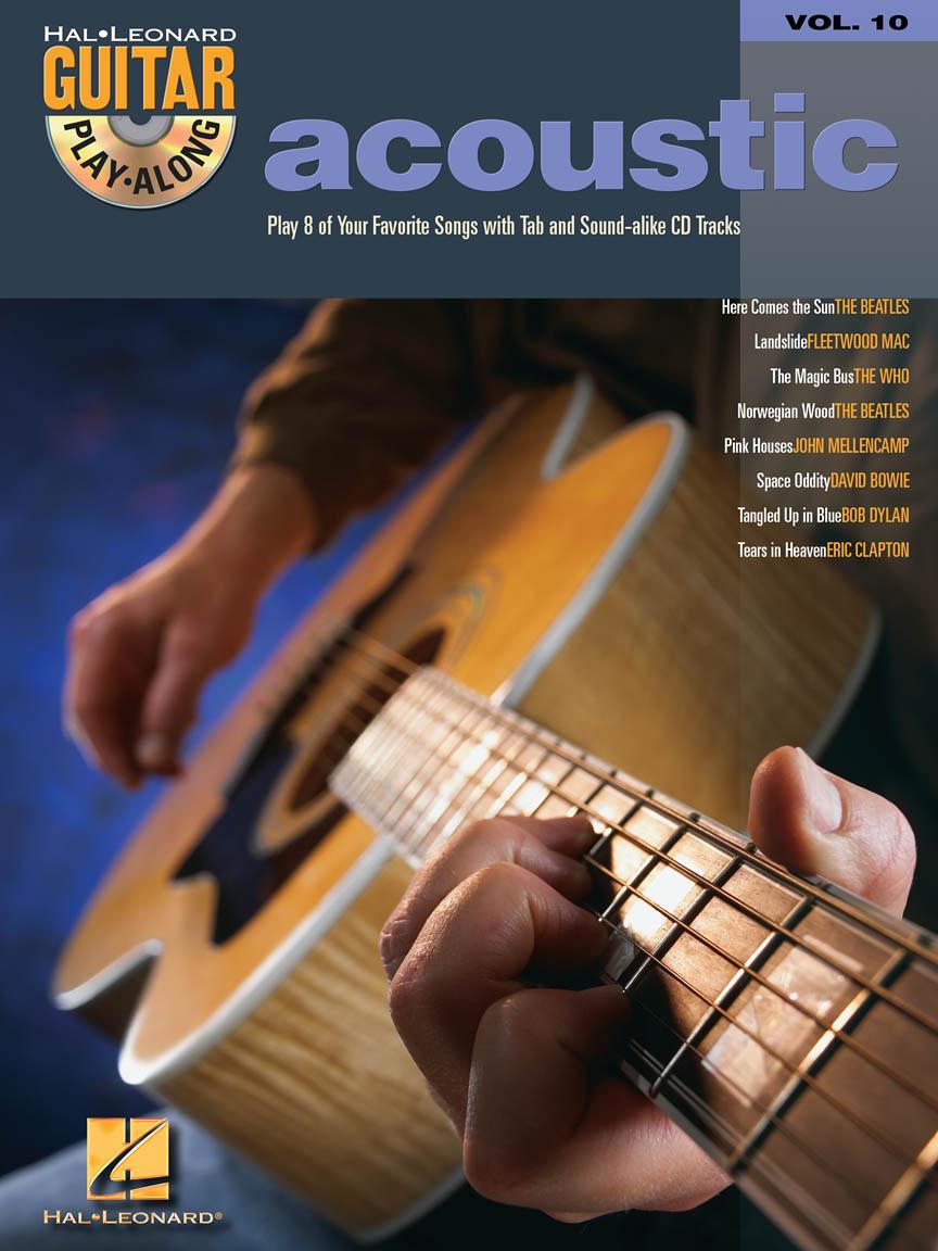 Acoustic Guitar Play Along Volume 10 Guitar Tab Bookcd Pack