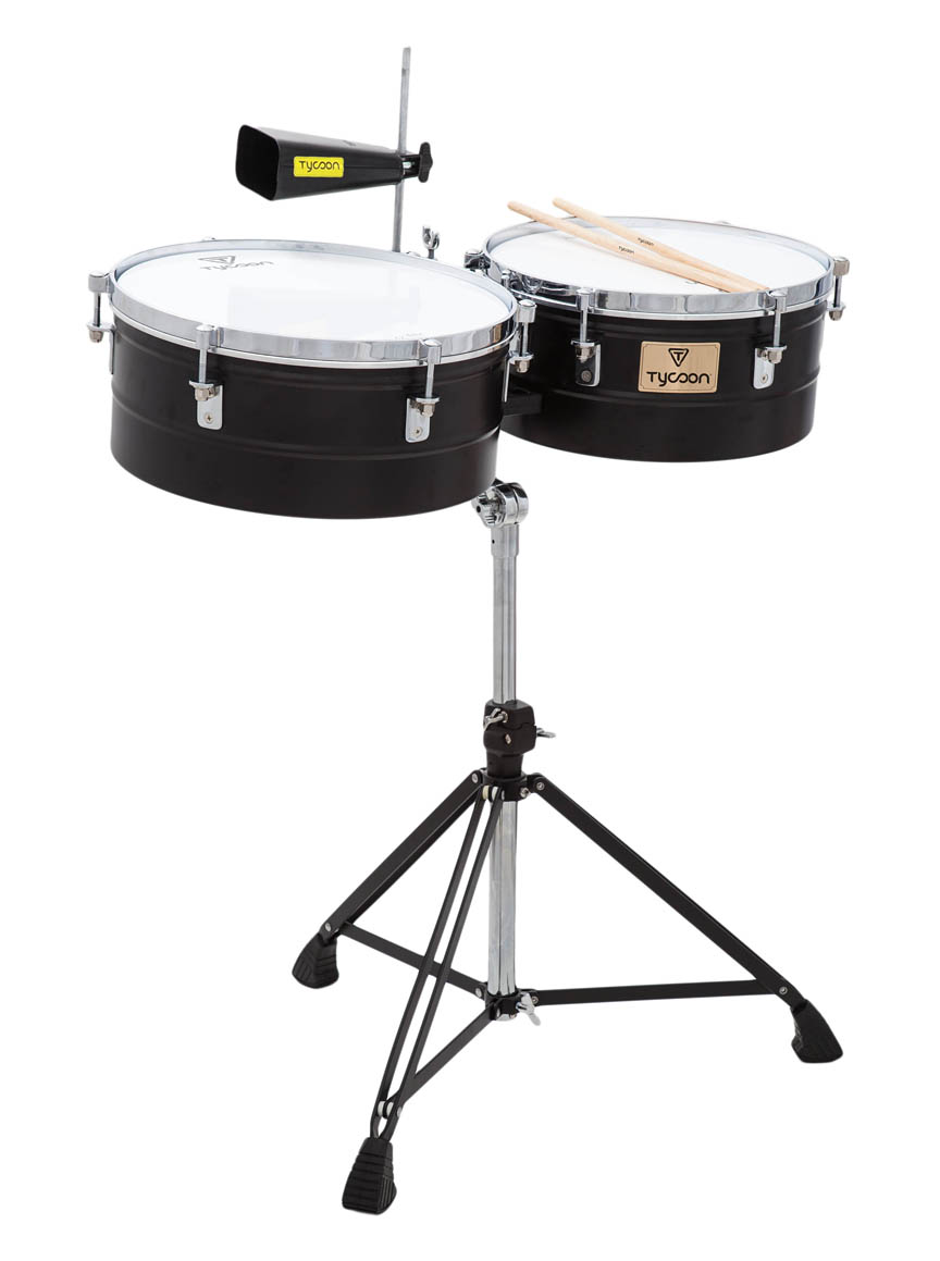 Tycoon Percussion Black Pearl Series Low Pitched Bell