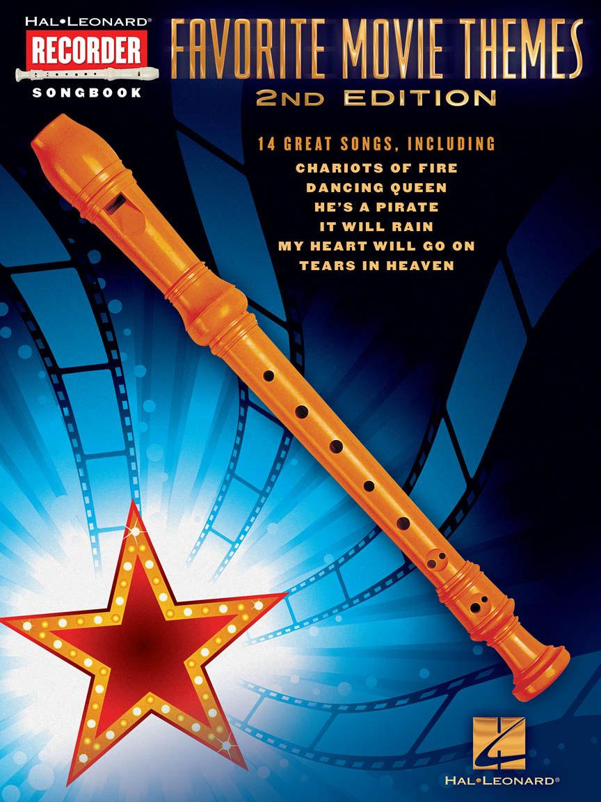 favorite movie themes 2nd edition for recorder