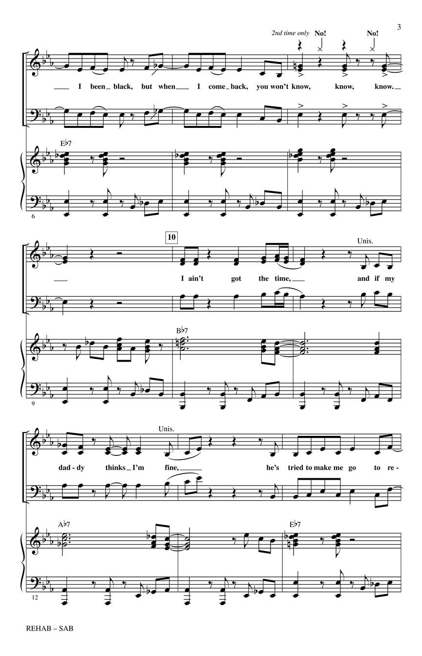 Amy winehouse rehab lyrics a z