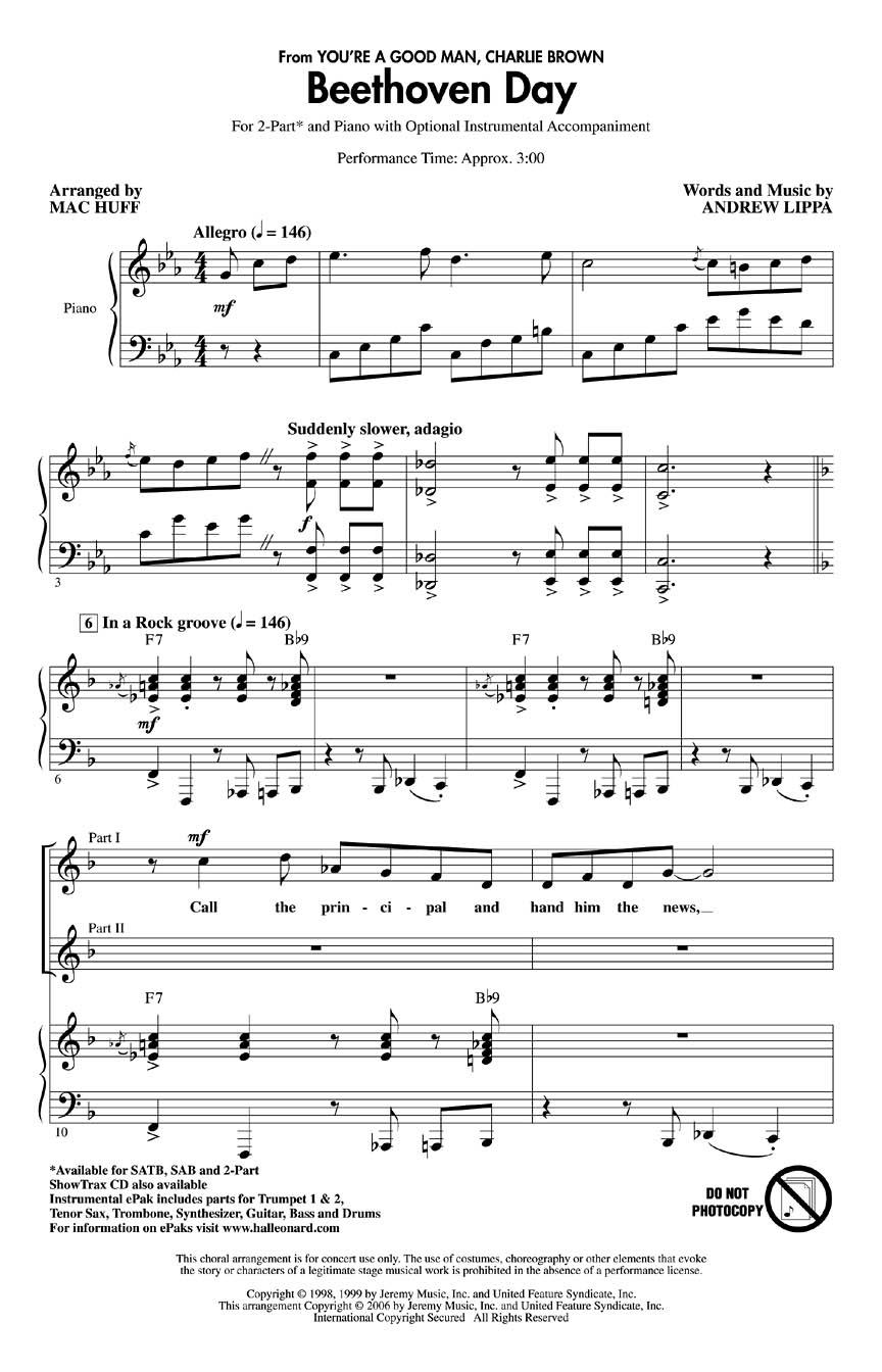 Clark Gesner – Beethoven Day Lyrics | Genius Lyrics