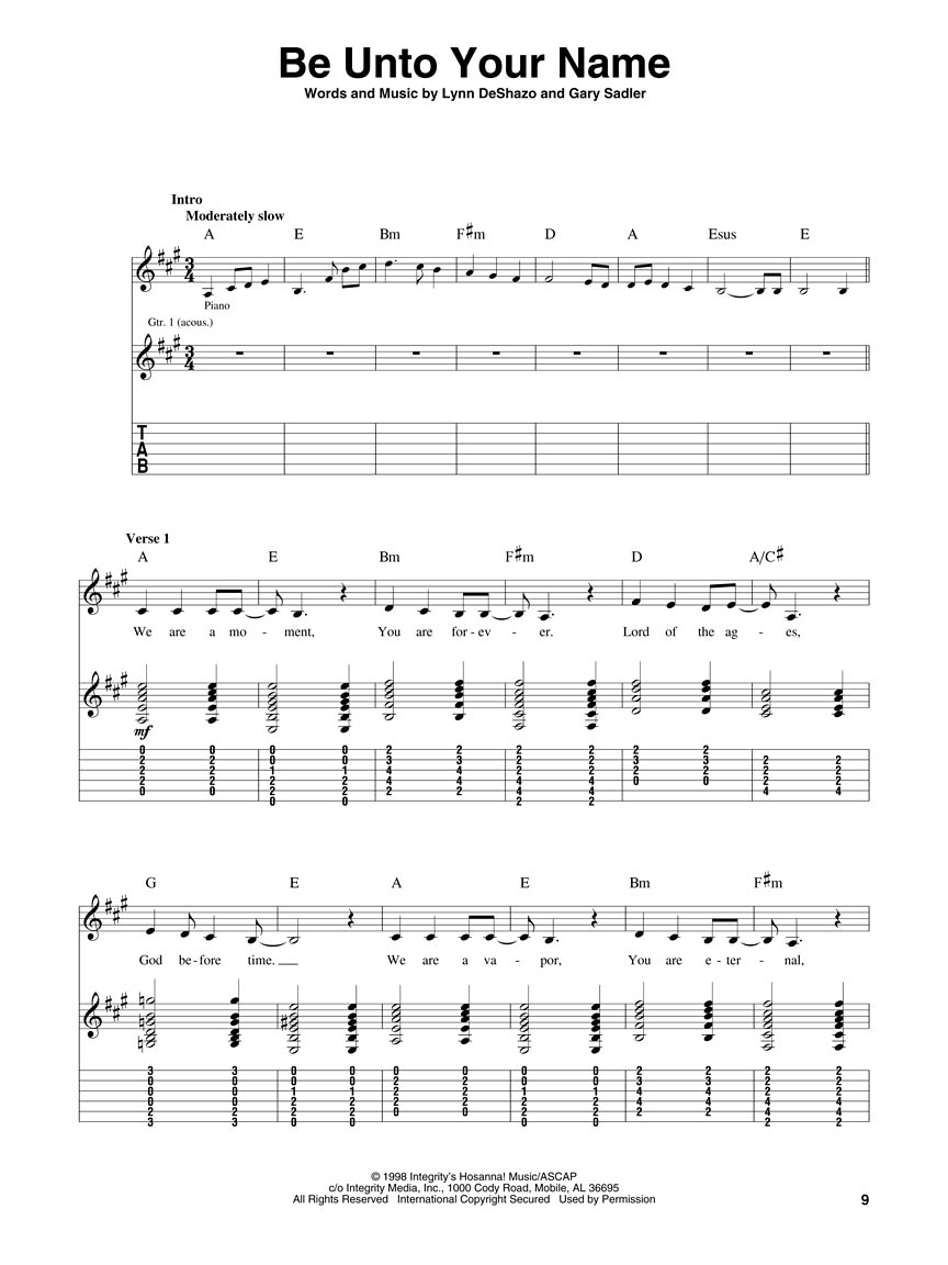 Prince Of Peace Guitar Chords