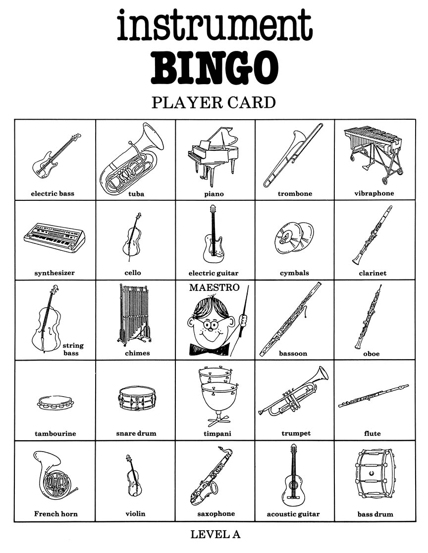 image regarding Musical Bingo Cards Printable named Tool Bingo (Sport) Northwest Tunes