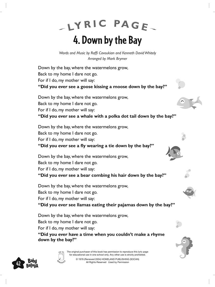 Raffi – Baby Beluga Lyrics | Genius Lyrics