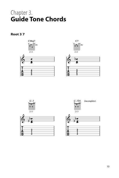berklee jazz guitar chord dictionary sheet music by rick peckham  sku  50449546
