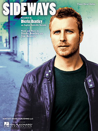 sideways 3 99 artist dierks bentley format piano vocal guitar pages. Cars Review. Best American Auto & Cars Review