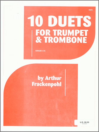 10 Duets For Trumpet And Trombone