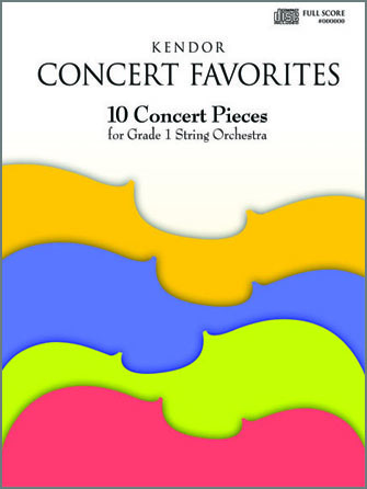 Kendor Concert Favorites - Optional Piano
