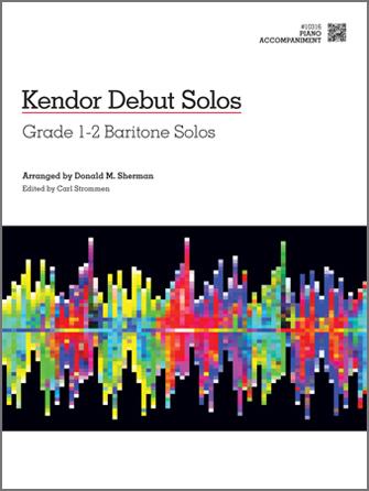 Various - Kendor Debut Solos - Baritone T.C. & B.C. - Piano Accompaniment