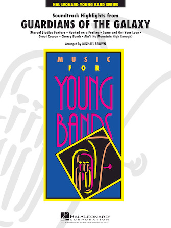 Soundtrack Highlights from Guardians of the Galaxy - Bb Trumpet 3