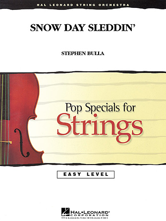 Snow Day Sleddin' - Violin 1