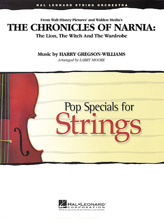 Harry Gregson-Williams - The Chronicles of Narnia - Violin 3 (Viola Treble Clef)
