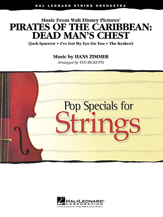 Hans Zimmer - Music from Pirates of the Caribbean: Dead Man's Chest - Violin 3 (Viola Treble Clef)