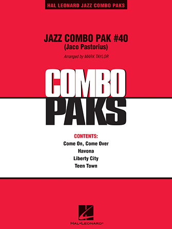 Jaco Pastorius - Jazz Combo Pak #40 (Jaco Pastorius) - C Instruments
