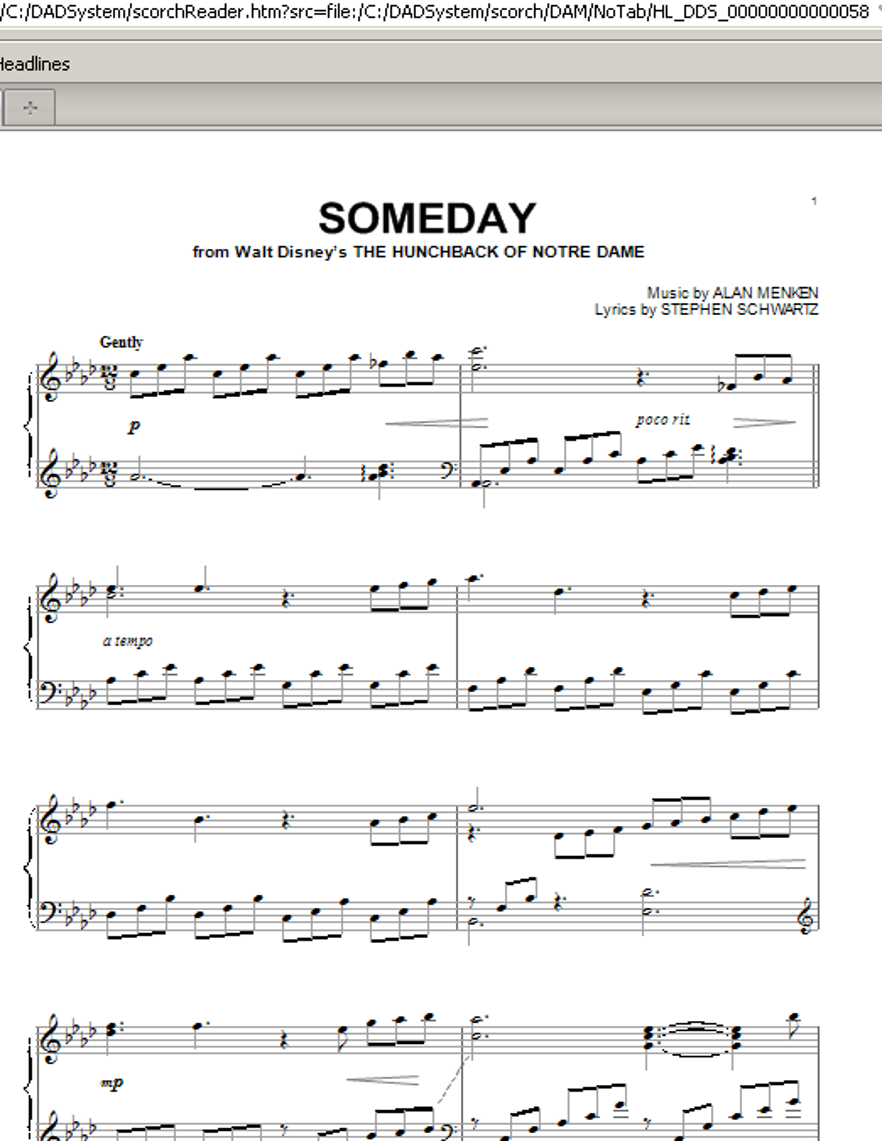 Partition piano Someday de All-4-One - Piano Solo