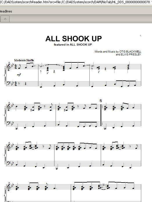 lyrics for all shook up musical Lyrics to all shook up song by elvis presley: a well i bless my soul what's wrong with me i'm itching like a man on a fuzzy tree my friends say i.