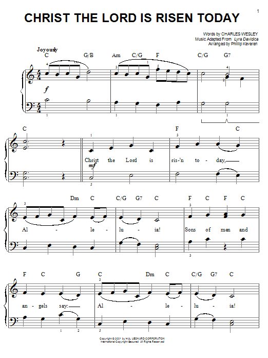 Sheet Music Digital Files To Print - Licensed Hymn Digital Sheet Music