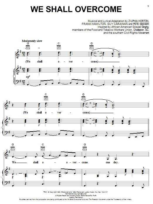Sheet Music Digital Files To Print Licensed Guy Carawan Digital