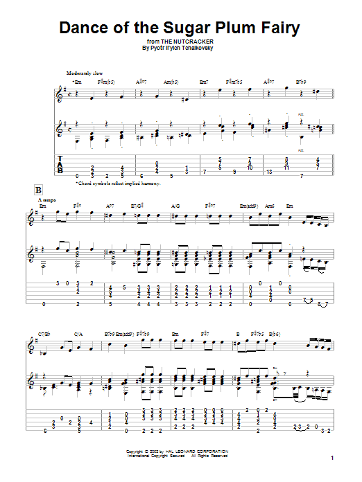 Sheet Music Digital Files To Print - Licensed Solo Guitar Digital ...