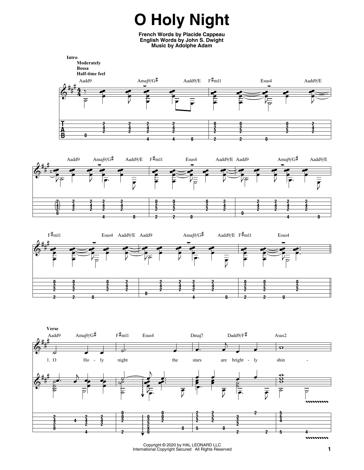Sheet Music Digital Files To Print - Licensed Placide Cappeau ...