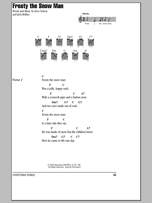 Sheet Music Digital Files To Print - Licensed Jack Rollins Digital ...