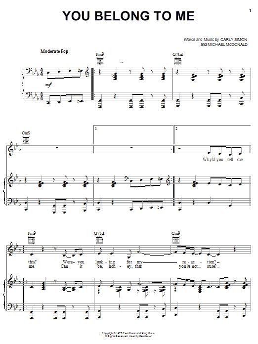 Sheet Music Digital Files To Print - Licensed Michael McDonald ...