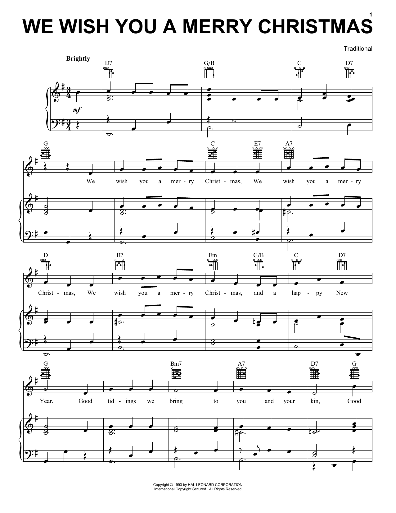 Sheet Music Digital Files To Print Licensed Traditional English