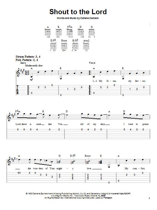 Hillsongs guitar chords