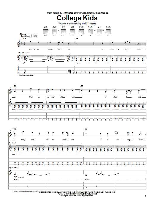 Sheet Music Digital Files To Print Licensed Relient K Digital