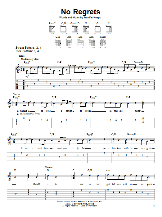Sheet Music Digital Files To Print - Licensed Easy Guitar with TAB ...