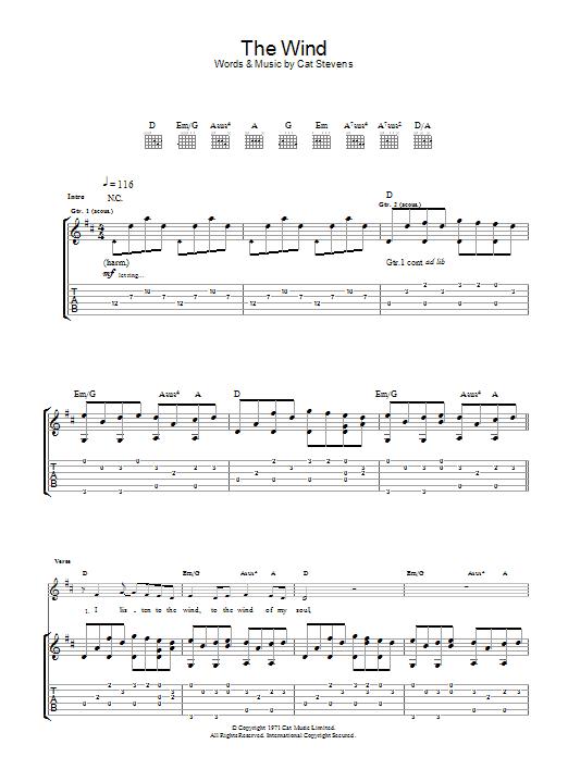 Sheet Music Digital Files To Print - Licensed Cat Stevens Digital ...
