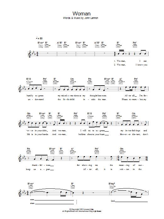 Sheet Music Digital Files To Print - Licensed John Lennon Digital ...